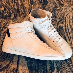 Authentic GUCCI high top sneakers Men's 6 1/2